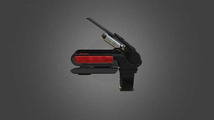 Personal Flotation Bracelet 3D Model