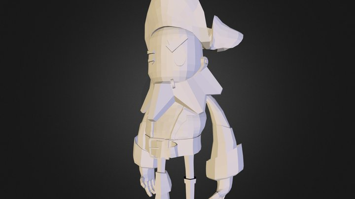 MainCharacter 3D Model