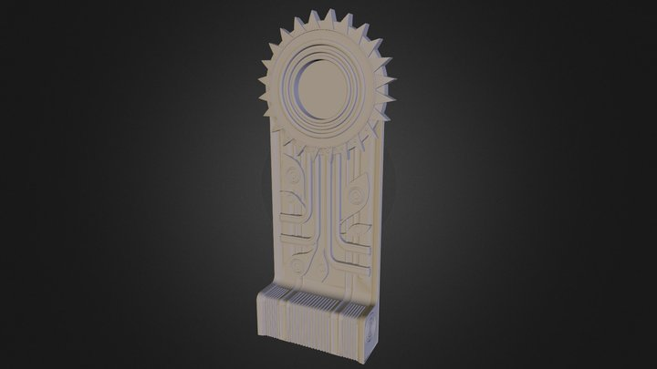 Conduit Bioshock high poly pour impression3D 3D Model