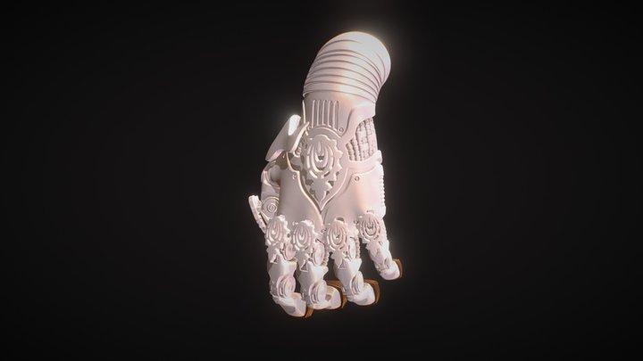 Merged Angel Hands PFB Xvertcolour 3D Model