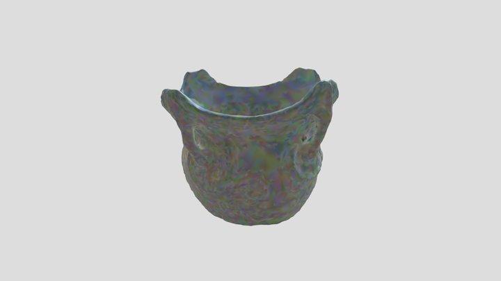 動物意匠文土器1(飛騨みやがわ考古民俗館) 3D Model