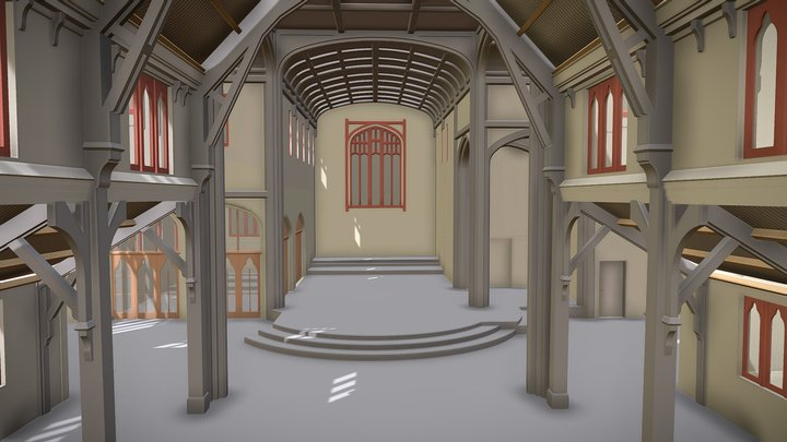 St Matthews Church 3D Model