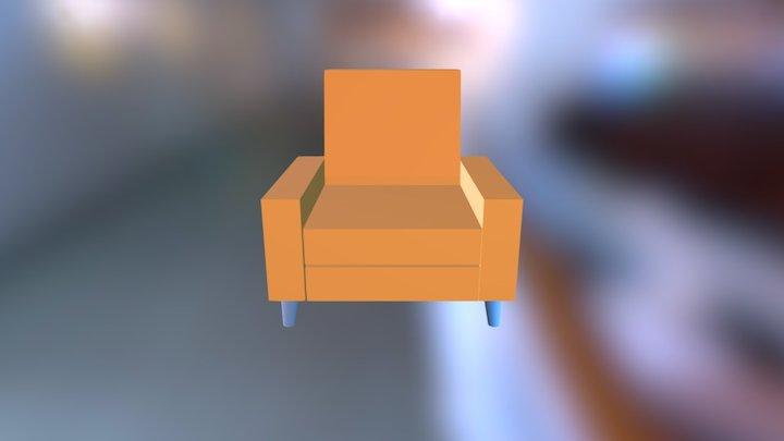 sillón 3D Model