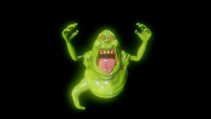 Slimer - Ghost Busters 3D Model