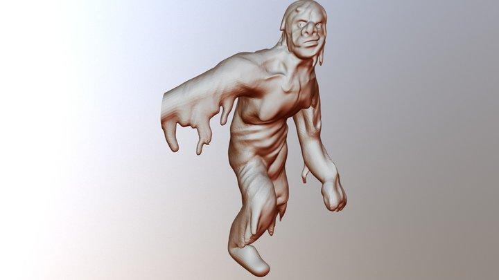 Day 5 Golem 3D Model