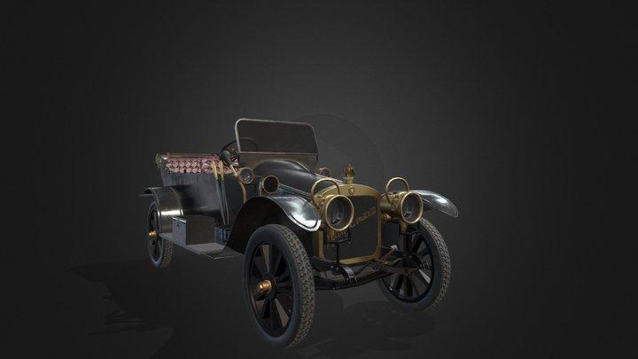 Russo-balt model K 3D Model