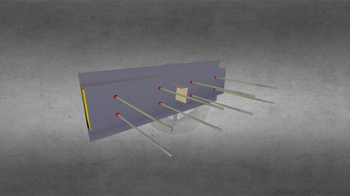 Test Slabe 3D Model
