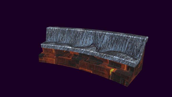 MucSciFi3-SofaSmall 3D Model
