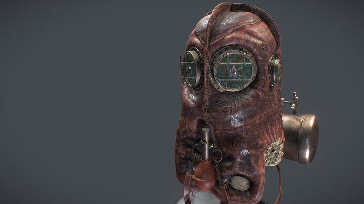 Mask Of Misery 3D Model