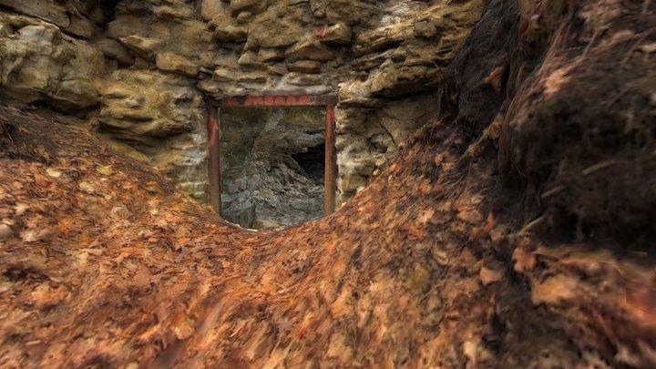 Казначеевская каменоломня. Фото Д. Гаршин. 3D Model