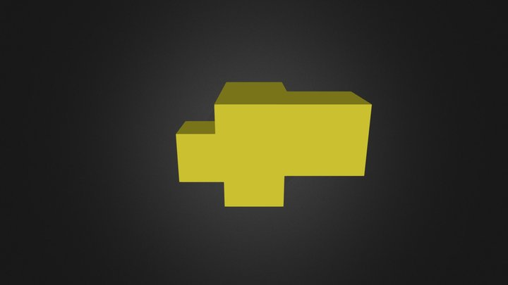 Yellow Piece 3D Model