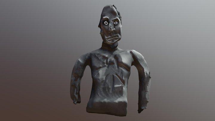 Gray Man 3D Model