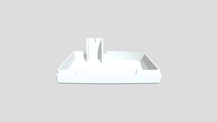TAPA X RAY ON 3D Model