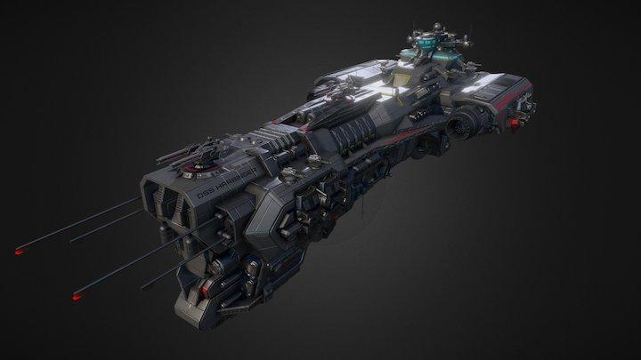 DSS Harbinger 3D Model