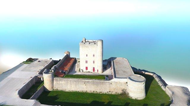 Fort Vauban 3D Model
