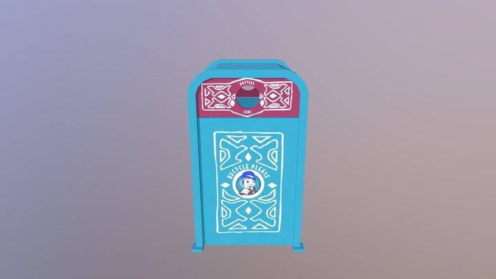 Adventureland Recycle Bin