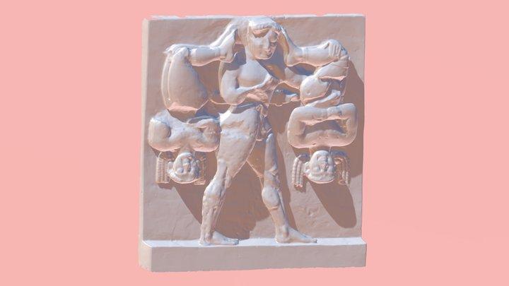 Héraklès & les Cercopes(Sélinonte) - MuMo Lyon 2 3D Model