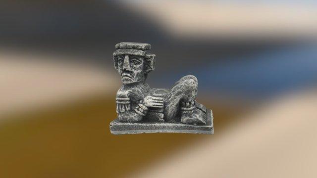 Mayan Figure - v1 3D Model