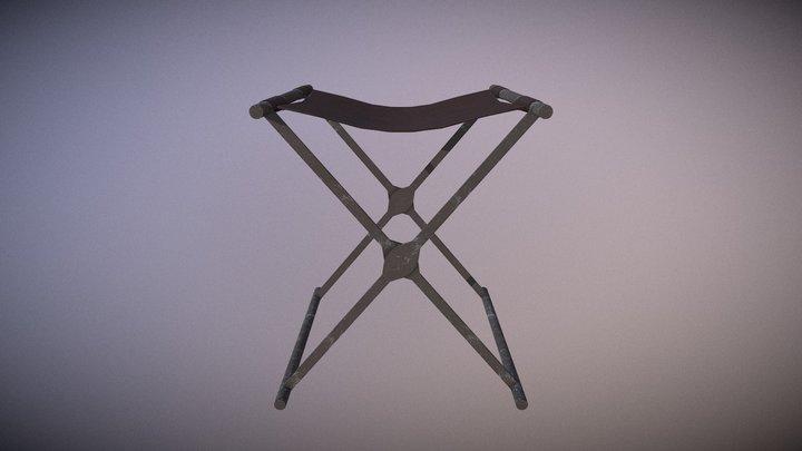 Roman Chair V2 3D Model