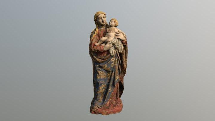Nossa Senhora Com Menino 3D Model