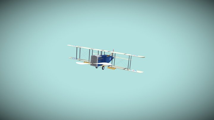 DAE, The Flying Circus 3D Model