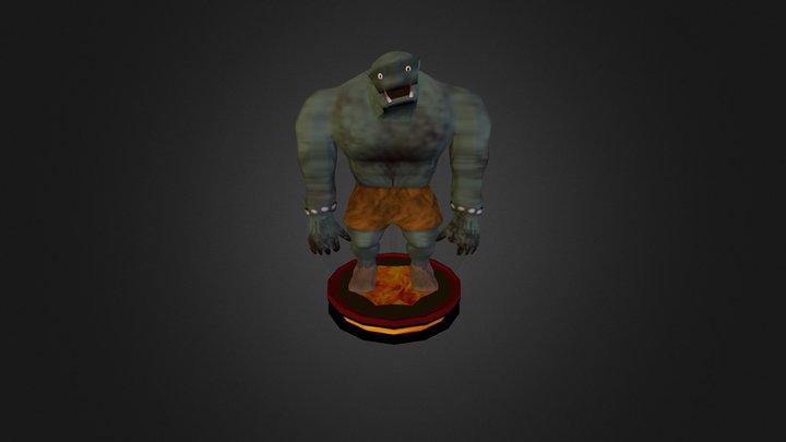 The Strange Little Orc 3D Model