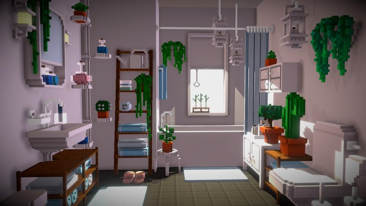 Morning routine 3D Model