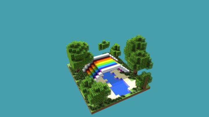 rainbow bridge 3D Model
