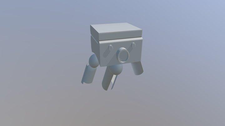 basic robot 3D Model