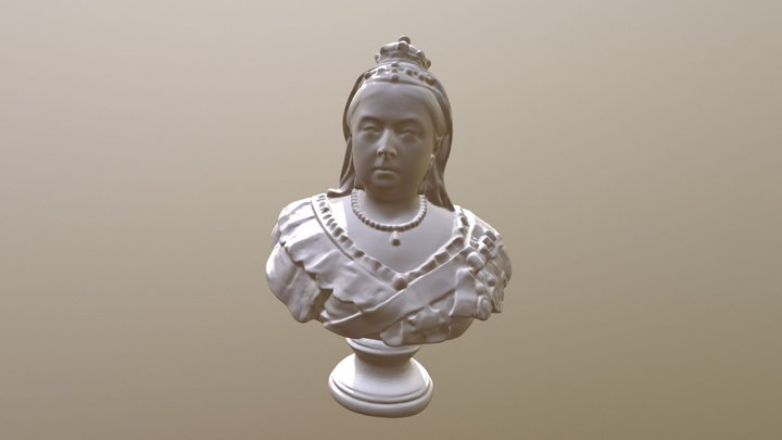 Bust of Queen Victoria 3D Model