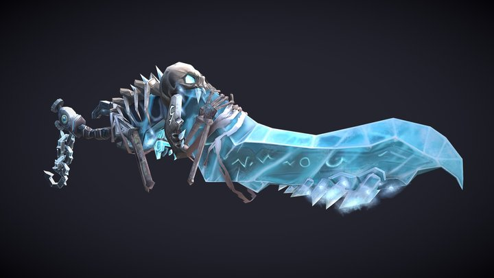 WOW - WeaponCraft - Icy Death 3D Model