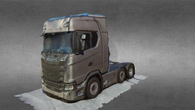 Scania S580 Newgeneration 6x2 3D Model