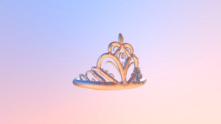 La Quinceañera Tiara (Crown) 3D Model
