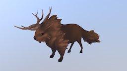 The Last Bison :: Bison Model 3D Model