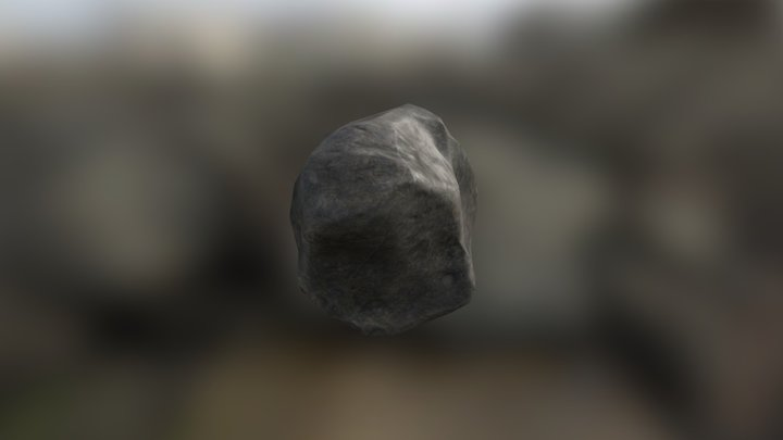 Gameready high quality rock 3D Model
