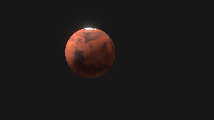 Mars Vue Eclatée (Fr) 3D Model