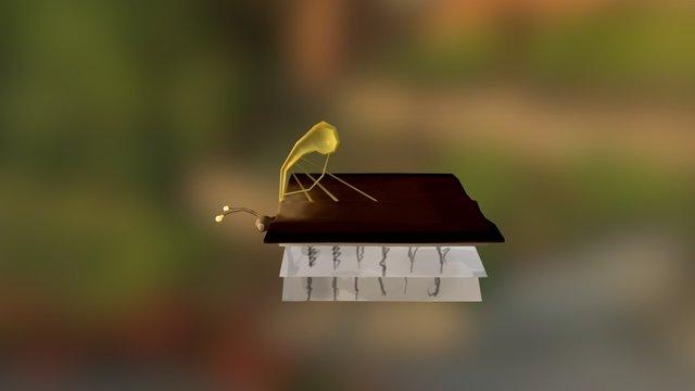 Butterbook 3D Model