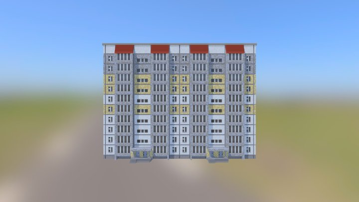 Panel house 3D Model