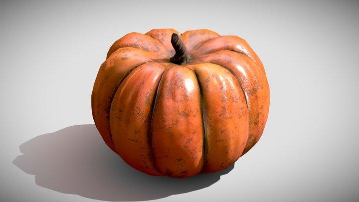 Pumpkin LP 3D Model