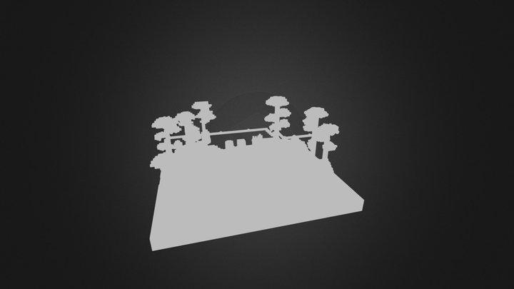Canopy City 3D Model