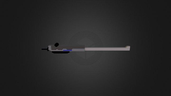 Raiden's Sheathe 3D Model