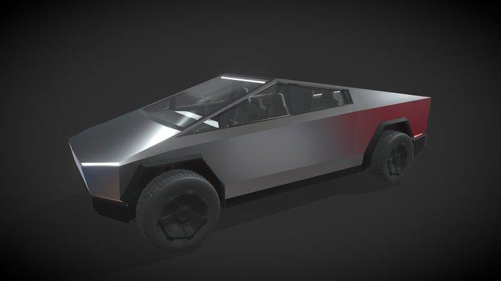 [Vehicle] Tesla Cybertruck 3D Model