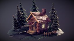 The Cabin in the Woods 3D Model