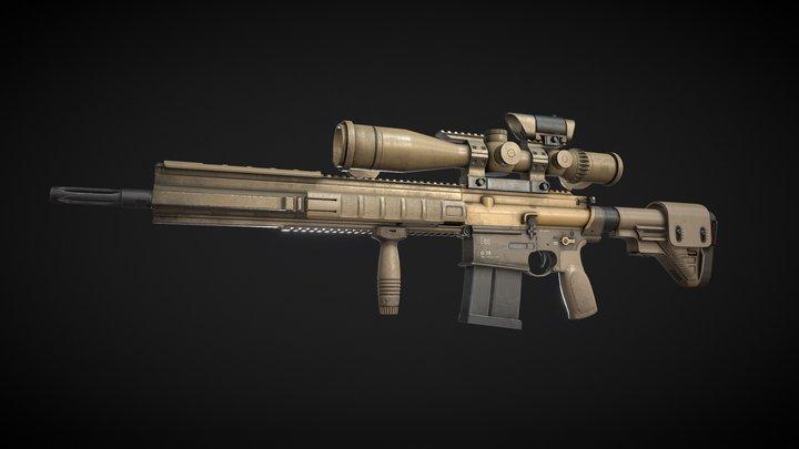 HK G28   Dust 'n' Dirt 3D Model