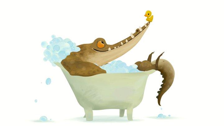 Bath time 3D Model