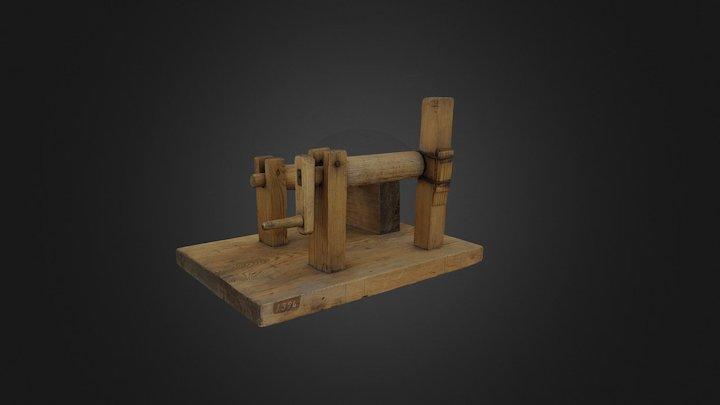 Mechanical alphabet, TM1396 3D Model
