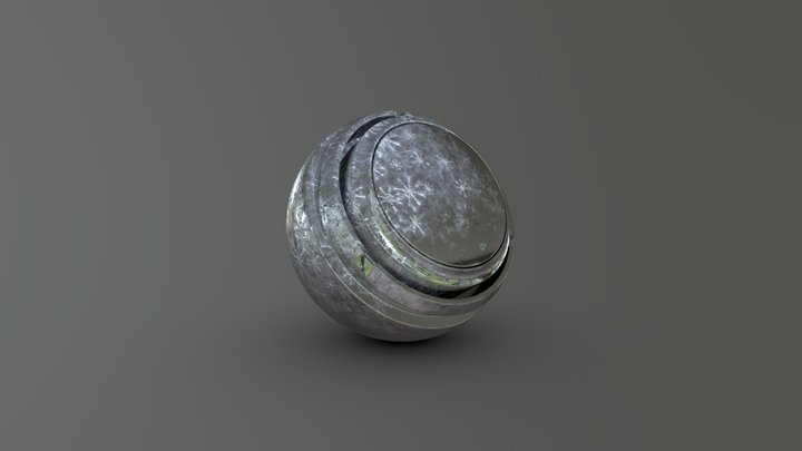 Frost material 3D Model