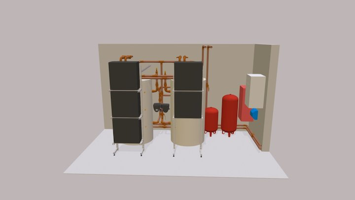 DQ-11650 Plantroom 3D Model