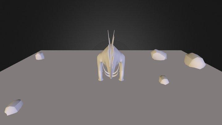 Steagosaurus_mazzara 3D Model