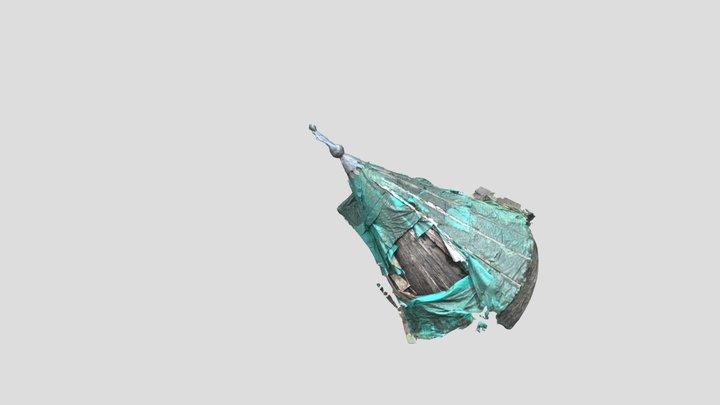 Dunans Castle Turret, March 2020 3D Model
